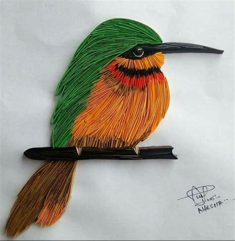 quilling tutorial bird 548 best quilling birds images on pinterest quilling