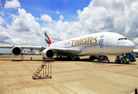 emirates schedule emirates a380 flight schedule to colombo aviation voice
