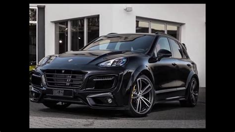 porsche truck 2016 techart porsche cayenne magnum looks in black