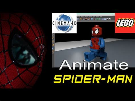 tutorial lego cinema 4d spider man lego animation running tutorial cinema 4d