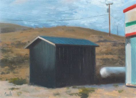 Shed Wyoming by Geoffrey Krueger 187 A Shed In Wyoming
