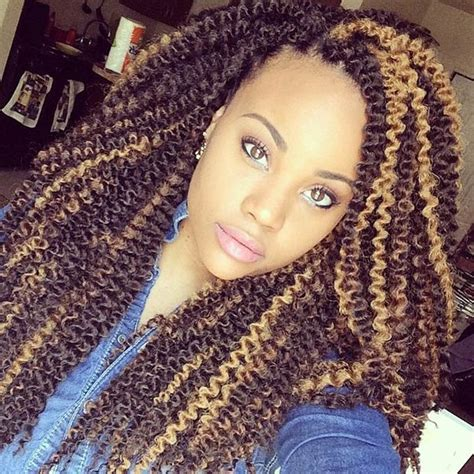 crochet hsir blonde 41 chic crochet braid hairstyles for black hair page 2