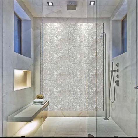Showers For Small Bathroom Ideas by Mother Of Pearl Tile Backsplash Seamless Pearl Tile With