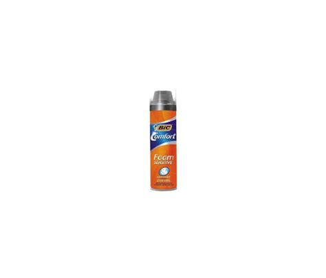 comfort foam bic comfort foam sensitive 250ml