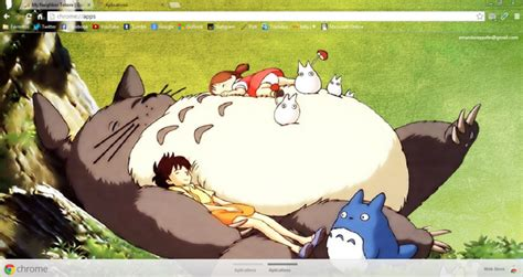 theme chrome totoro my neighbor totoro chrome theme themebeta