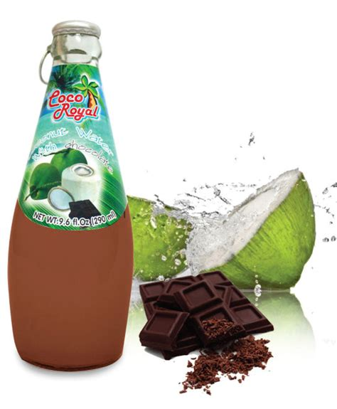 Rainbow Coconut Import Bangkok coconut water with chocolate products thailand coconut water with chocolate supplier