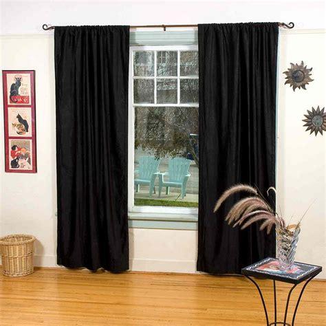 home theater velvet curtains velvet blackout home theater curtain panel black ebay