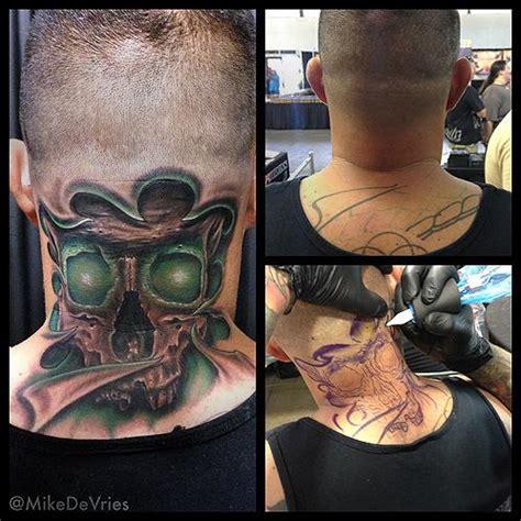 glow in the dark skeleton tattoo glow skull tattoo by mike devries tattoos
