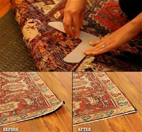 rug corner weights how to stop furniture sliding on hardwood and tile floors stop rugs curling with these corner