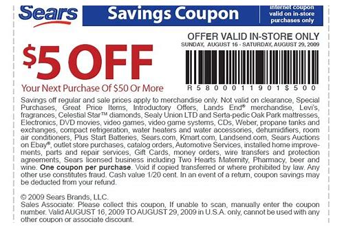 sears coupons in store december 2018