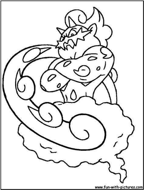 pokemon thundurus coloring pages images pokemon images
