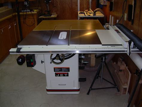 jet cabinet saw review review jet 3hp cabinet saw with 30 quot rip by walnutz