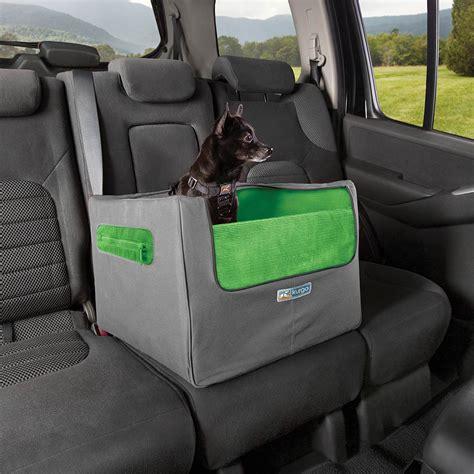 rear skybox dog booster seat  kurgo green baxterboo