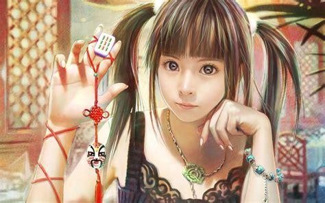 art little girl models amazing cg art girls wallpapers