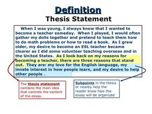 thesis statement sentence thesis statement thesis of compare and contrast essay compare contrast