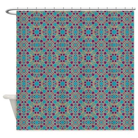 blue pattern shower curtain moroccan blue pattern shower curtain by sarasmistymountainshop