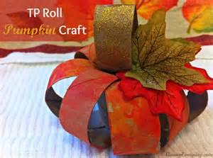 Tp roll pumpkin craft supplies needed