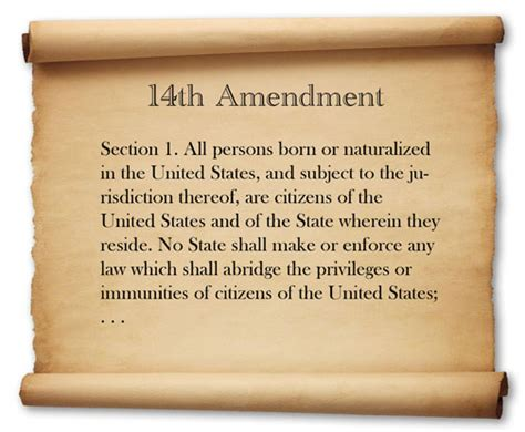 fourteenth amendment section 1 the fourteenth amendment is about republicans fearing the