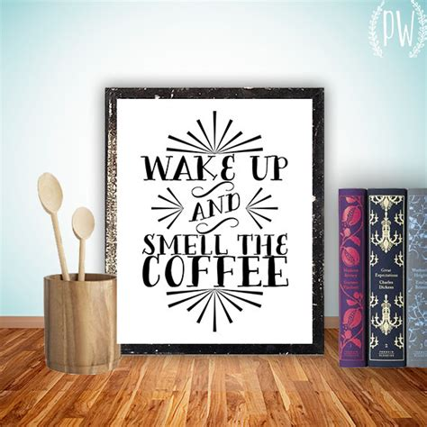 printable kitchen art kitchen art printable wall decor print coffee by