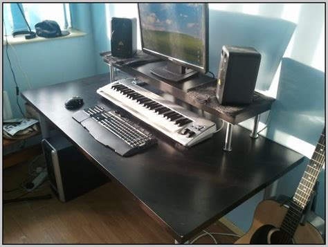 Recording Studio Desk Ikea Desk Home Design Ideas Home Studio Desk Ikea