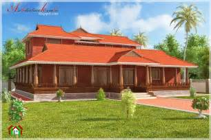Kerala Home Design Nalukettu by Architecture Kerala Nalukettu Style Kerala House Elevation