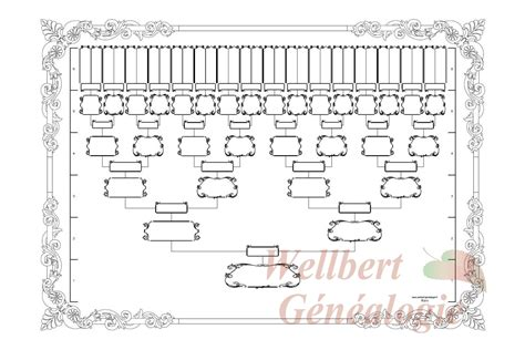 printable family tree 6 generations blank family tree template 6 generations printable empty