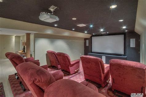 movie theater in queens with recliners photos douglaston home with theater room outdoor balcony