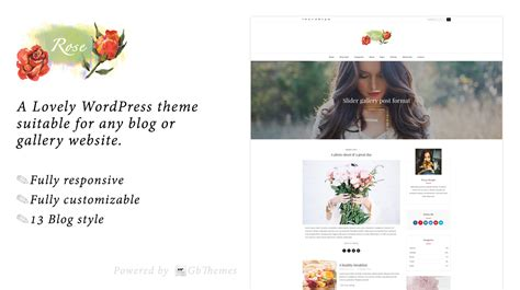theme rose wordpress rose a lovely wordpress theme for bloggers themes