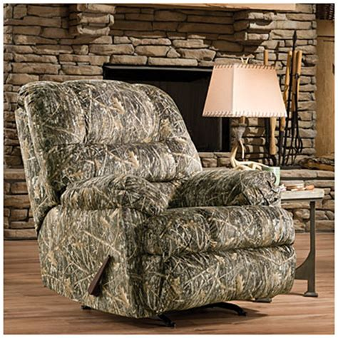 simmons camo recliner view simmons 174 camouflage rocker recliner deals at big lots