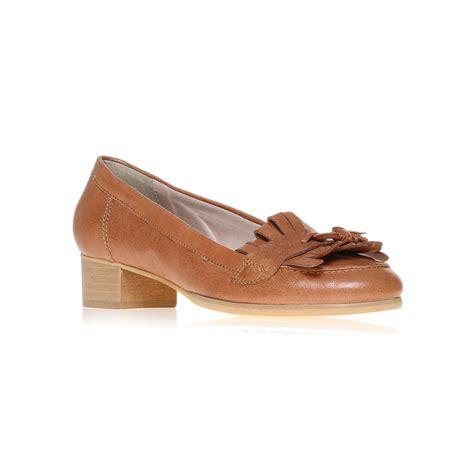 carvela loafers carvela kurt geiger lara loafer shoes in brown lyst