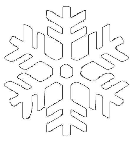 Kostenlose Vorlage Schneeflocke kostenlose malvorlage schneeflocken und sterne