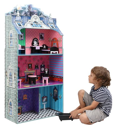 doll house toddler monster doll house w furniture baby n toddler