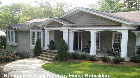 ranch style porches home designs with porches front porch ideas for ranch
