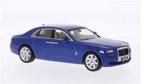 roll royce ghost blue rolls royce ghost metallic blue 2009 whitebox diecast