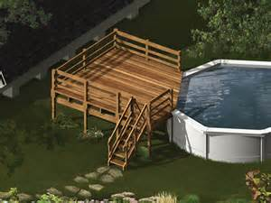 pool deck bauen home plans design building a wooden pool deck plans