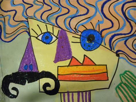 picasso paintings ks1 can draw picasso portraits for