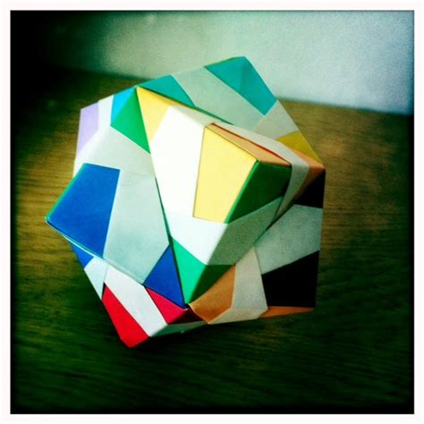 Money Origami Cube - 17 best images about modular origami on money