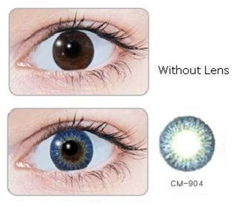 geo magic color series – 3tone blue lens cm 904   contacts cow