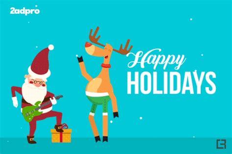 happy holidays gif animation  wacom gallery