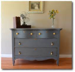 blue gray painted furniture