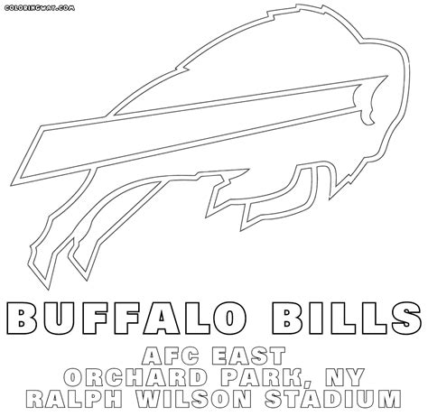 nfl logos coloring pages coloring pages to download and