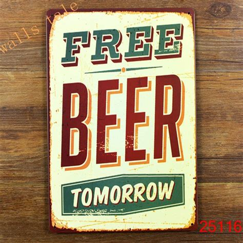 wall decor for home bar aliexpress com buy funny metal tin sign for bar pub wall