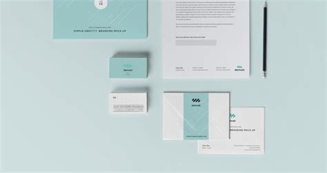 a collection of high quality free branding mockup psd