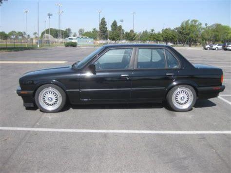 bmw e30 325i 4 door sell used 1991 bmw 325i e30 sedan 4 door black 5 speed