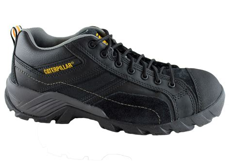 Caterpillar Bandick Safety Boots Hitam 1 caterpilar cat argon mens ct composite toe safety shoes brand house direct