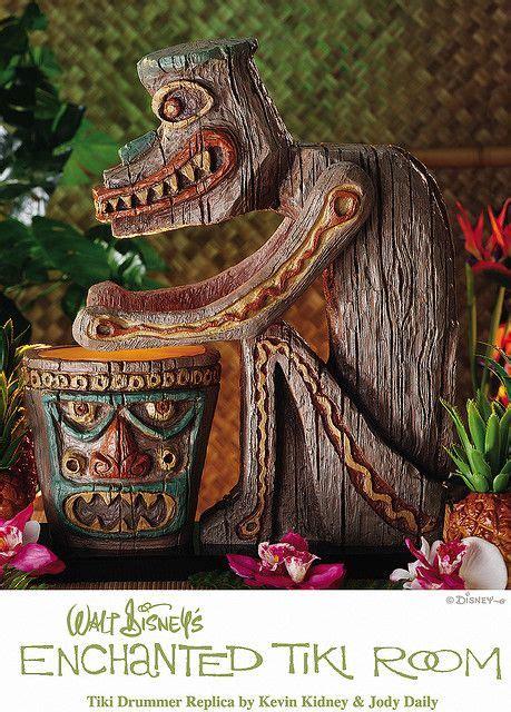 Tiki Hut Disneyland by Disneyland Enchanted Tiki Drummer Figure Replica Welcome