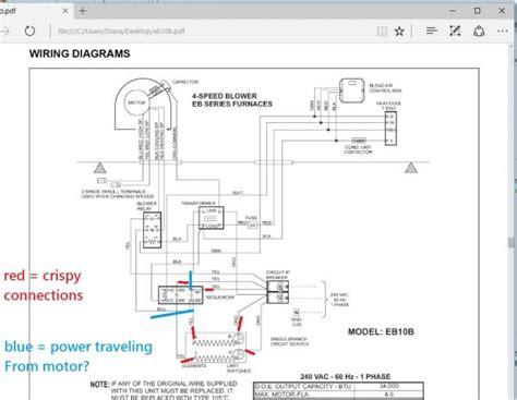 hvac blower fan motor wiring blower free