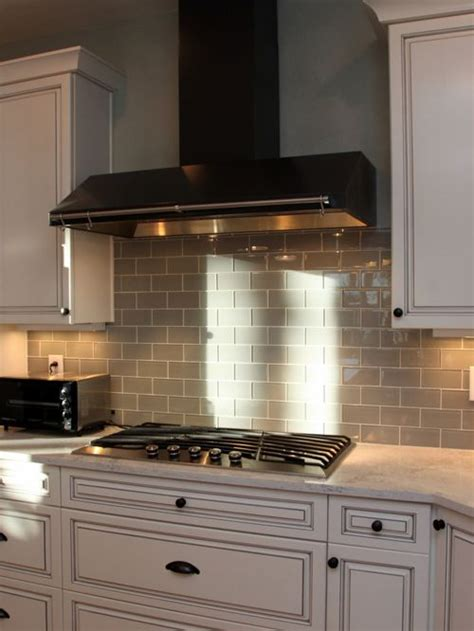 houzz kitchen backsplash grey glass tile backsplash houzz