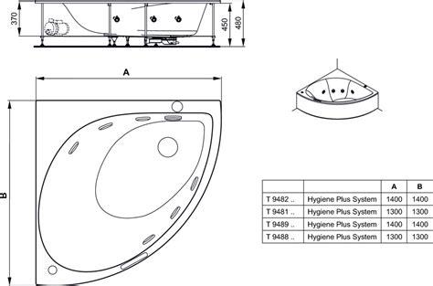 vasca angolare ideal standard dettagli prodotto t9482 vasca idromassaggio