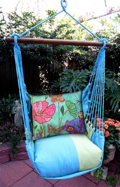 canvas swing chair meadow mist floral canvas hammock chair swing set only